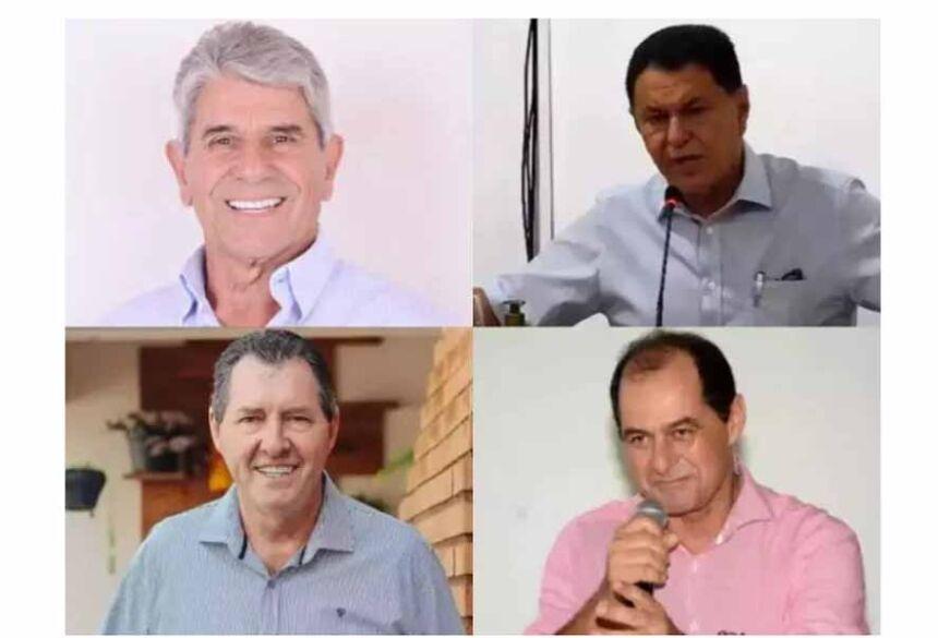 Da direita para a esquerda, e de cima para baixo: Fiuza, Urt, Heliomar e Cassuci (Foto: Divulgação)