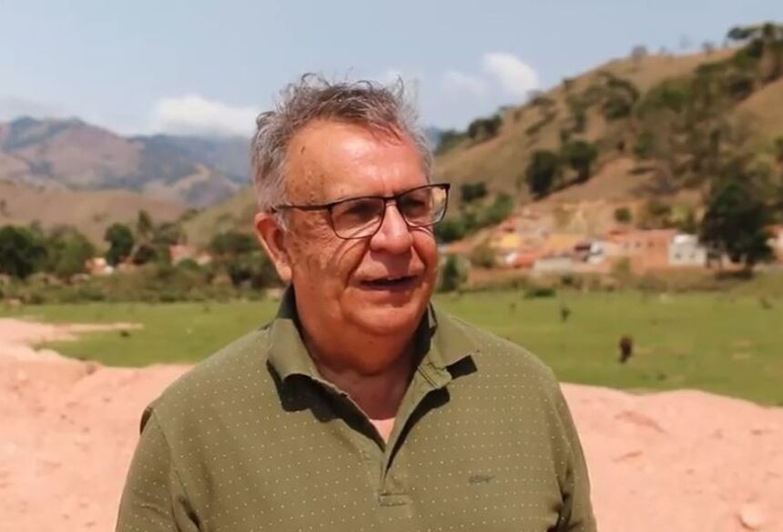 Antônio Claret Mota Esteves morreu na véspera da eleição, mas foi reeleito em Passa Quatro (MG)  Foto: Reprodução/Partido Verde