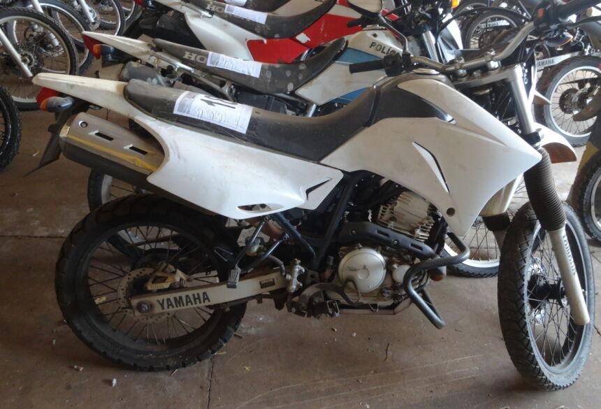 Pregão oferece 55 motos das marcas Yamaha e Honda