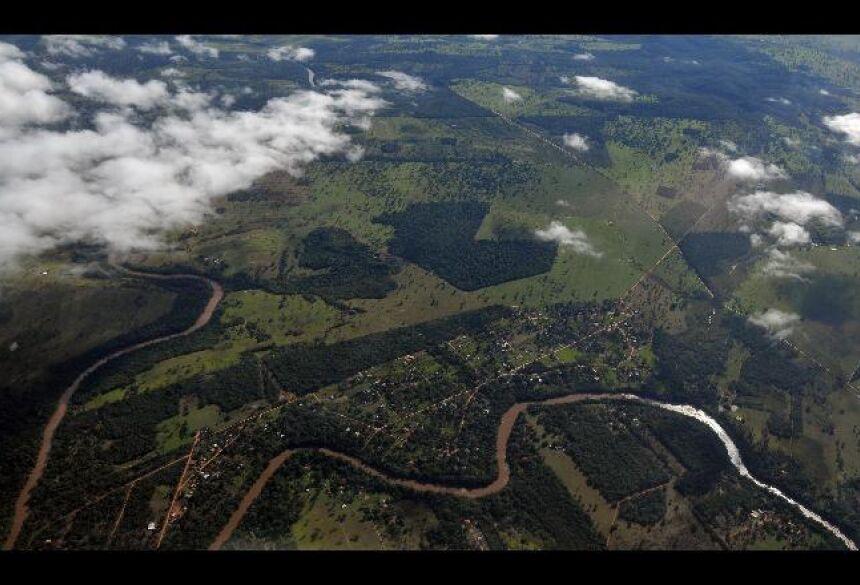 Rio Miranda percorre aproximadamente 490km - Álvaro Rezende
