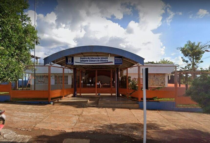 EMEI Lafayete Câmara de Oliveira, em Campo Grande (MS)  Foto: Google Street View