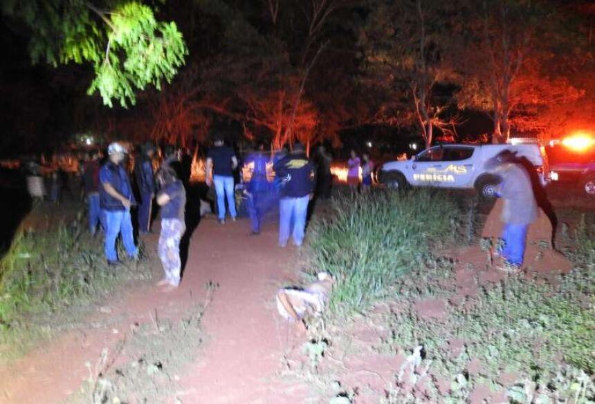 Crime aconteceu entre às 19 e 23 horas na Aldeia Bororó, em Dourados - Crédito: Dourados News/Via WhatsApp