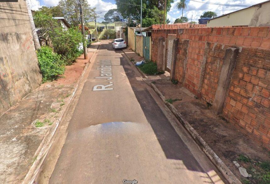 Local onde crime ocorreu, no bairro Vila Margarida, em Campo Grande (MS)  Foto: Google Street View/Reprodução