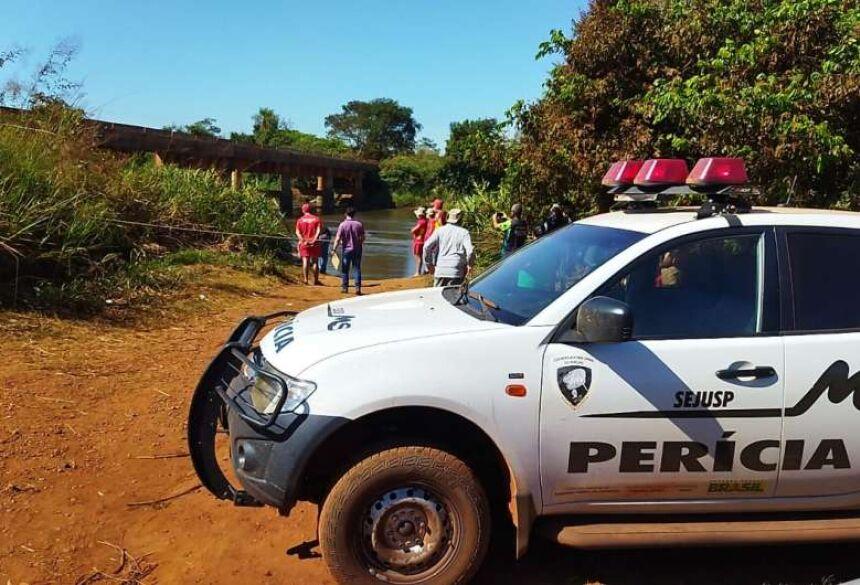 A perícia esteve no local - Crédito: Osvaldo Duarte/Dourados News