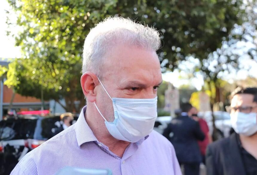 Secretário de estado de Saúde, Geraldo Resende. (Foto: Paulo Francis) - CREDITO: CAMPO GRANDE NEWS