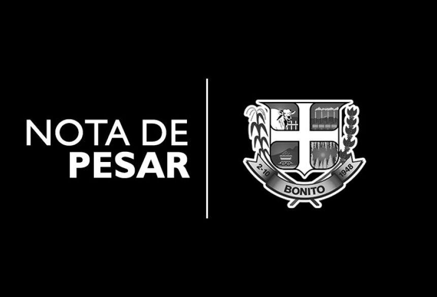BONITO - NOTA DE PESAR