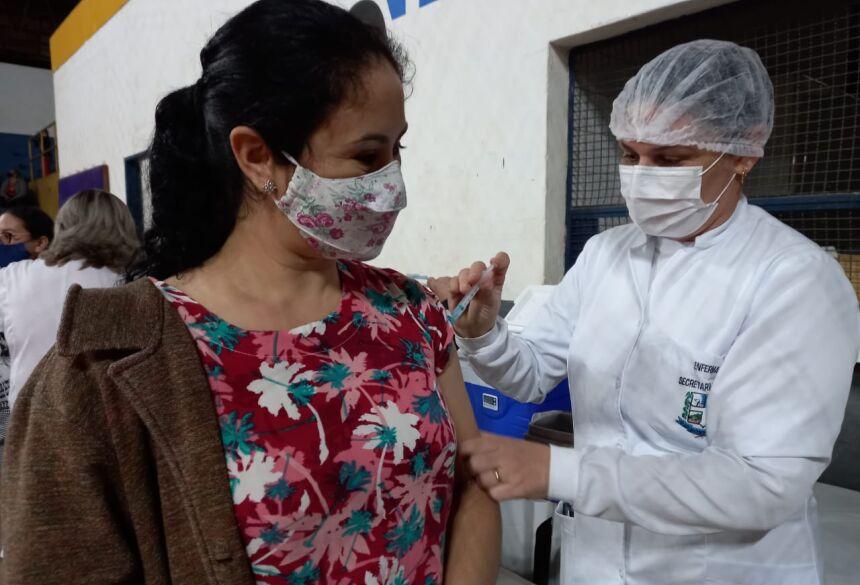 Vacinação em Bonito