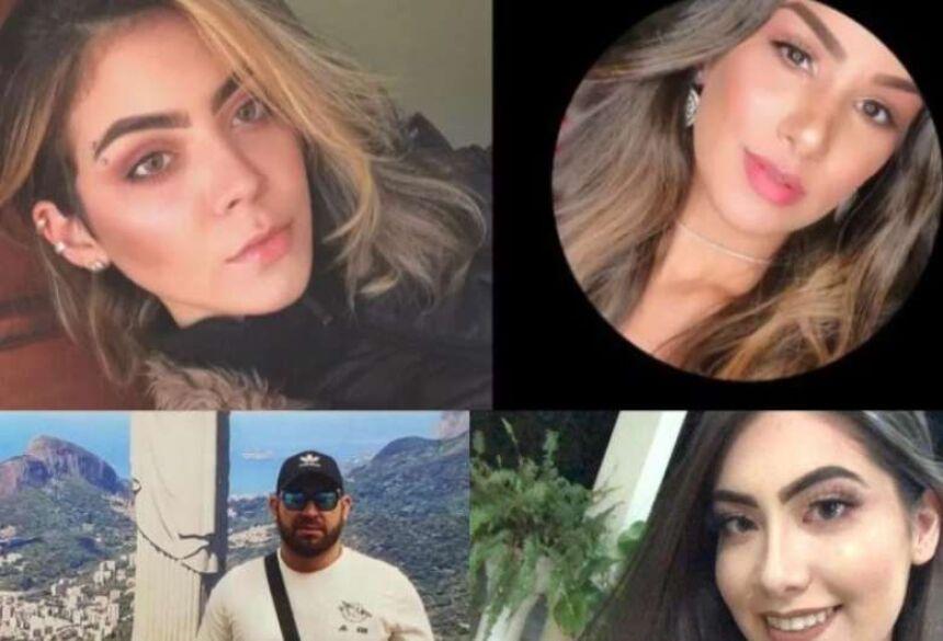 Rhannye Jamilly, Kaline Reinoso, Osmar Vicente e Haylle Carolina morreram no ataque -Crédito: Hedio Fazan/Dourados News