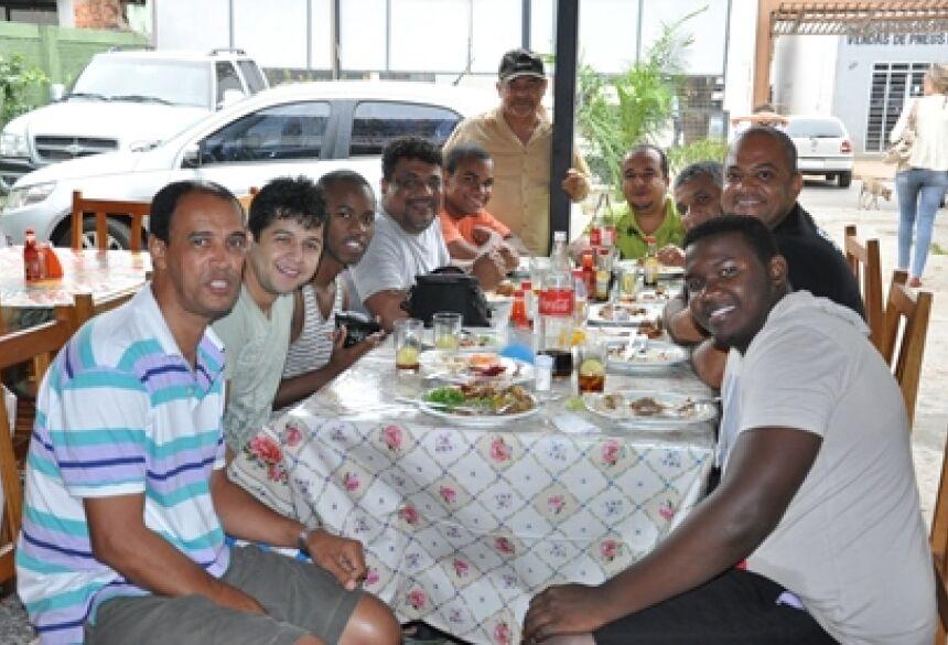 Banda Toque no Altar no Eraldos Restaurante - <br> Foto: Rogério Sanches / Bonito Informa