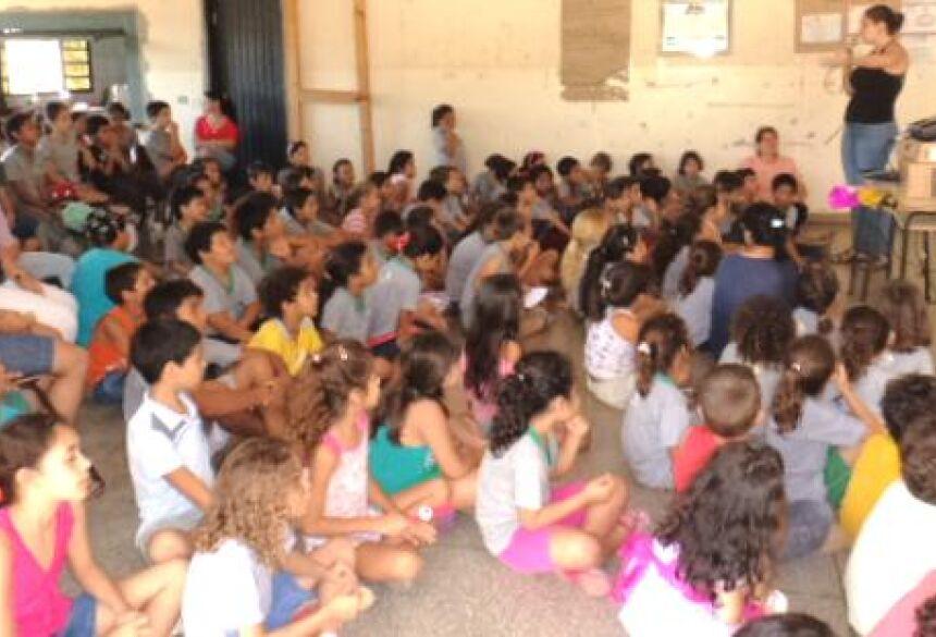 Palestras nas escolas municipais são ministradas de Bonito (Foto: Bonito Informa / Assessoria)