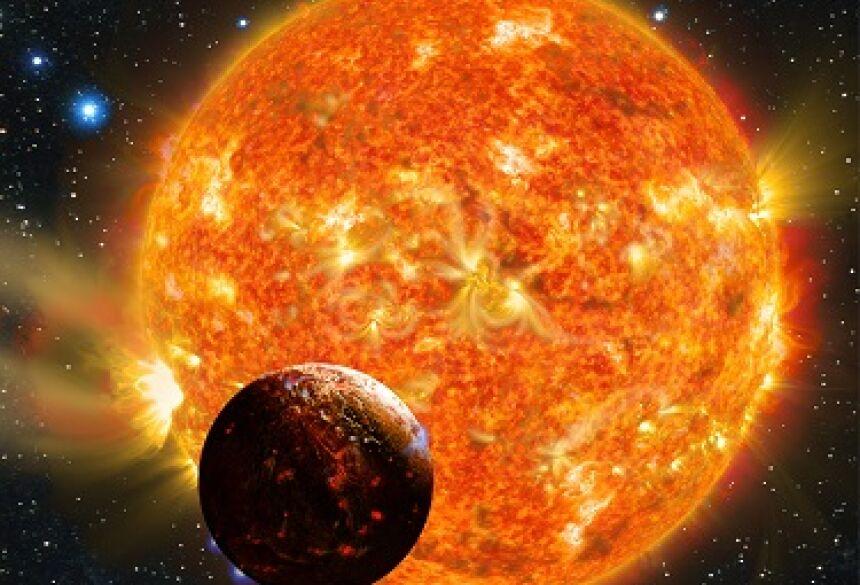 Concepção artística do planeta Kepler-78b, de composição similar à terrestre
