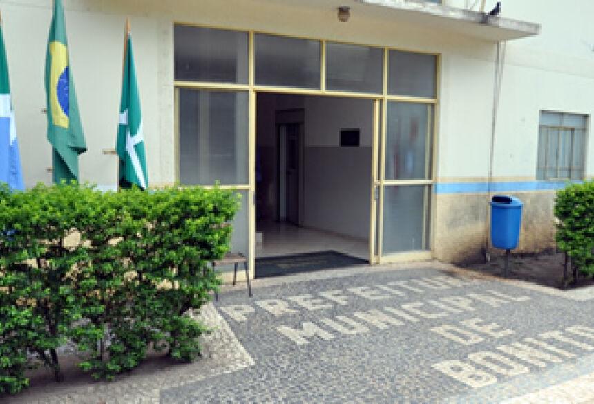 Prefeitura de Bonito - (Foto: Rogério Sanches / Bonito Informa)