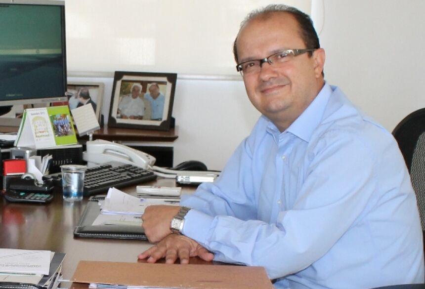 Presidente da Sanesul no Estado, José Carlos Barbosa