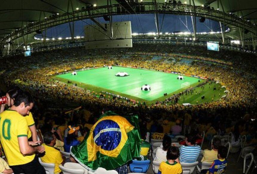 Estádio do Maracanã, no Rio de Janeiro - (Ivan Pacheco)