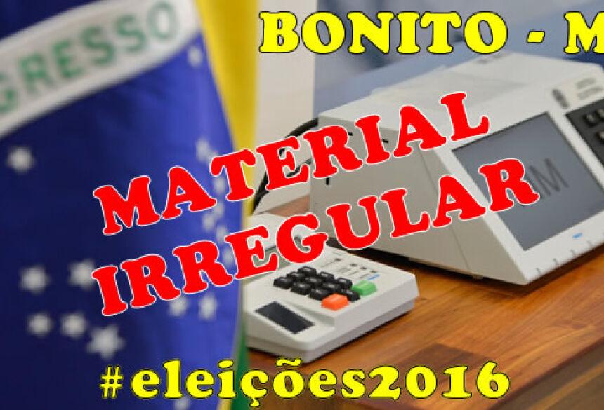 Juíza Eleitorial determina busca e apreensão de bonés e camisetas de candidata em BONITO