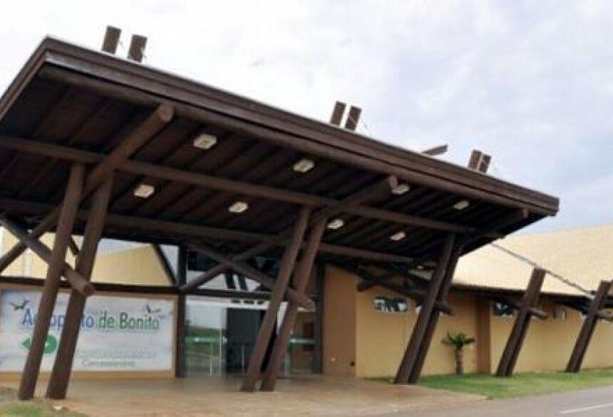 Aeroporto de Bonito sob intervenção do governo estadual. (Foto: Dix Empreendimento)