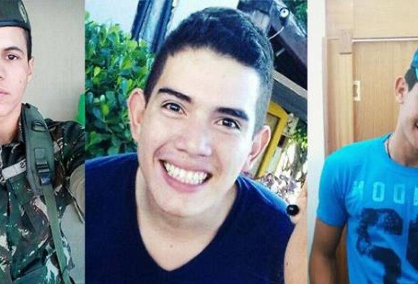 João Lucas, 18, José Henrique, 20, e Jairo Ortiz, 20, morreram em acidente (Reprodução / Facebook)