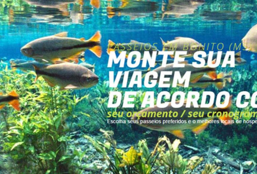 Agência Sucuri destaca como elaborar seu pacote de viagens para BONITO (MS)