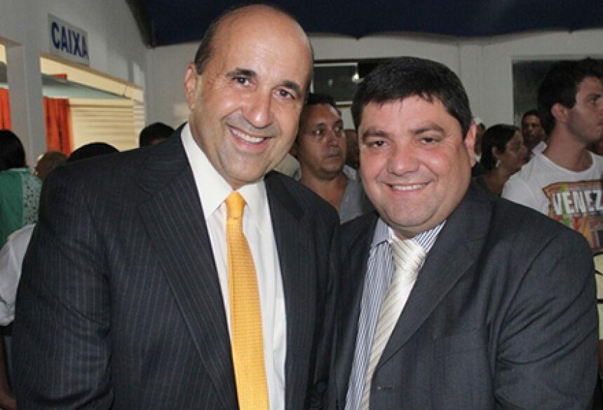 Leleco e Josmail - FOTO: ARQUIVO / ASSESSORIA