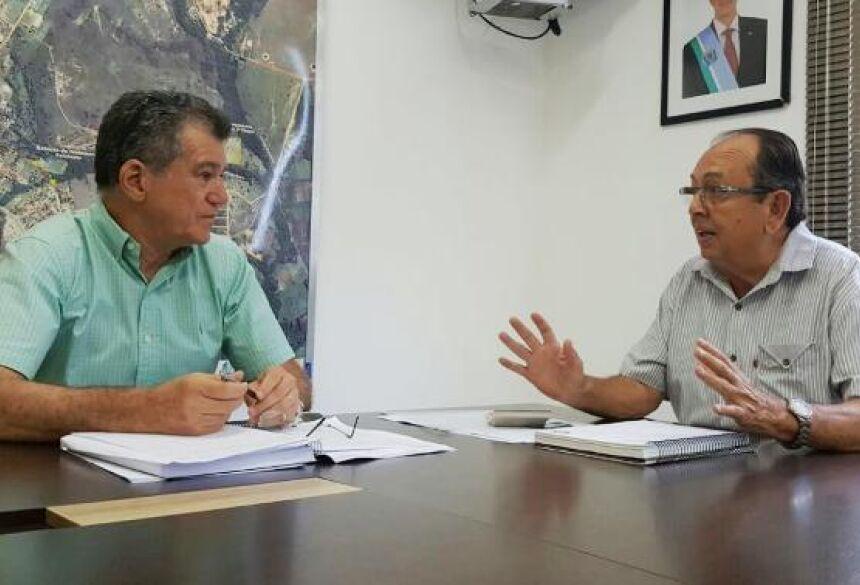 FOTO: ROGÉRIO SANCHES / BONITO INFORMA - Prefeito Odilson e Secretário de Turismo Augusto Mariano