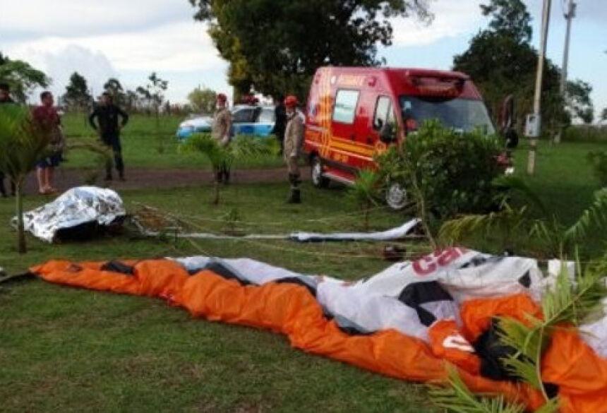 Acidente aconteceu no fima da tarde desse domingo (19) - Foto: A Gazeta News