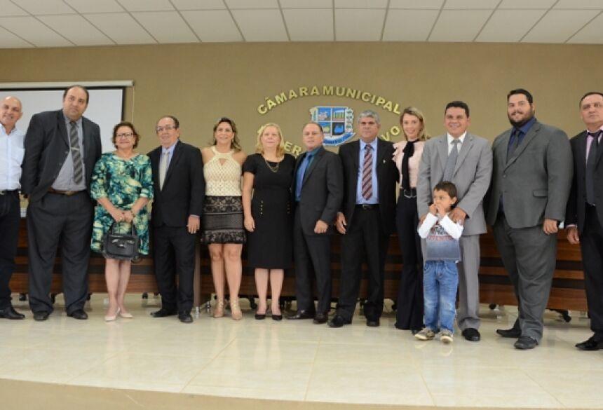FOTO: ROGÉRIO SANCHES / BONITO INFORMA - Vereadores destacam necessidade de resgatar credibilidade dos Poderes em 1ª Sessão da Câmara