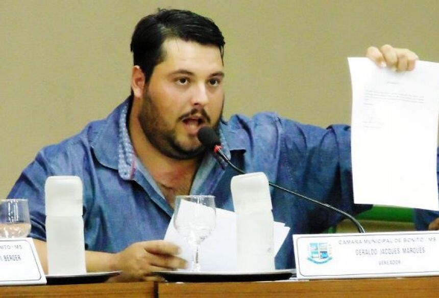 Vereador pede recuperação da estrada na região da Fazenda Pão de Mel em BONITO