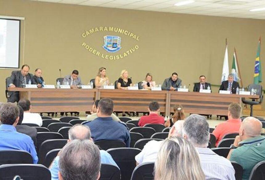 FOTO: ROGÉRIO SANCHES / BONITO INFORMA - Câmara aprovou 12 indicações, 6 requerimentos e 2 moções durante sessão ordinária