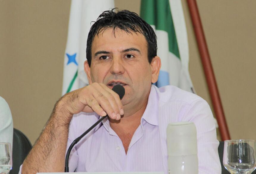 FOTO: JABUTY - João Ligeiro quer melhoria em estrada do assentamento Guaicurús em BONITO