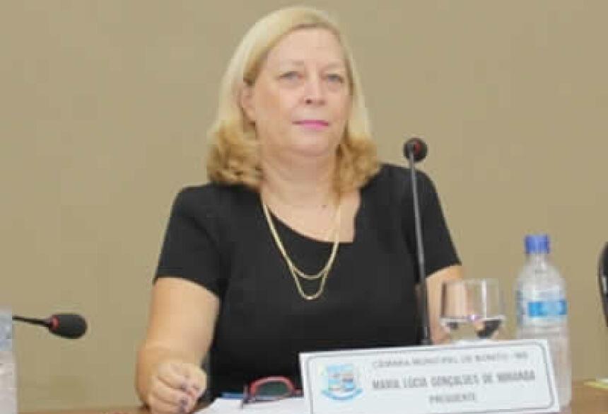 FOTO: JABUTY - Vereadora Lúcia Miranda -