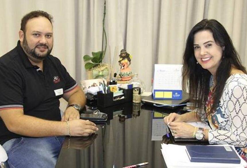 FOTO: DIVULGAÇÃO - Mara Caseiro anuncia emenda de R$ 50 mil que será destinada a saúde de BONITO