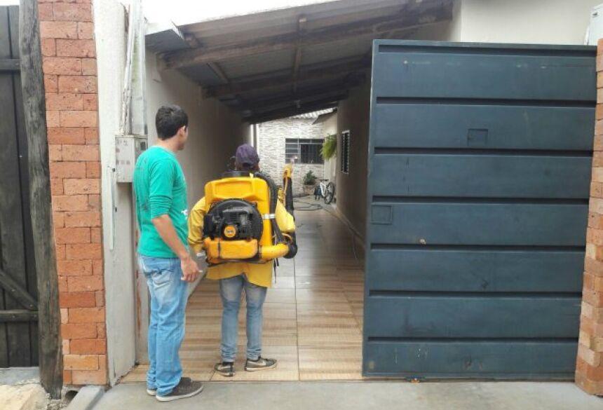 FOTOS: JABUTY - Saúde faz 'arrastão' e vigilância utiliza fumacê contra Aedes Aegypti em BONITO