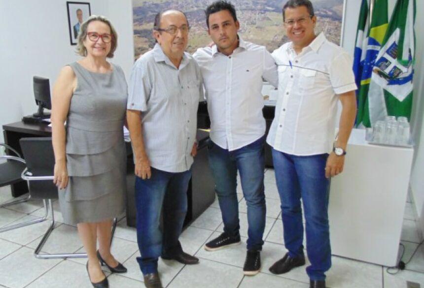 FOTO: JABUTY - Prefeito recepciona dá boas vindas ao novo médico que atenderá na saúde de BONITO