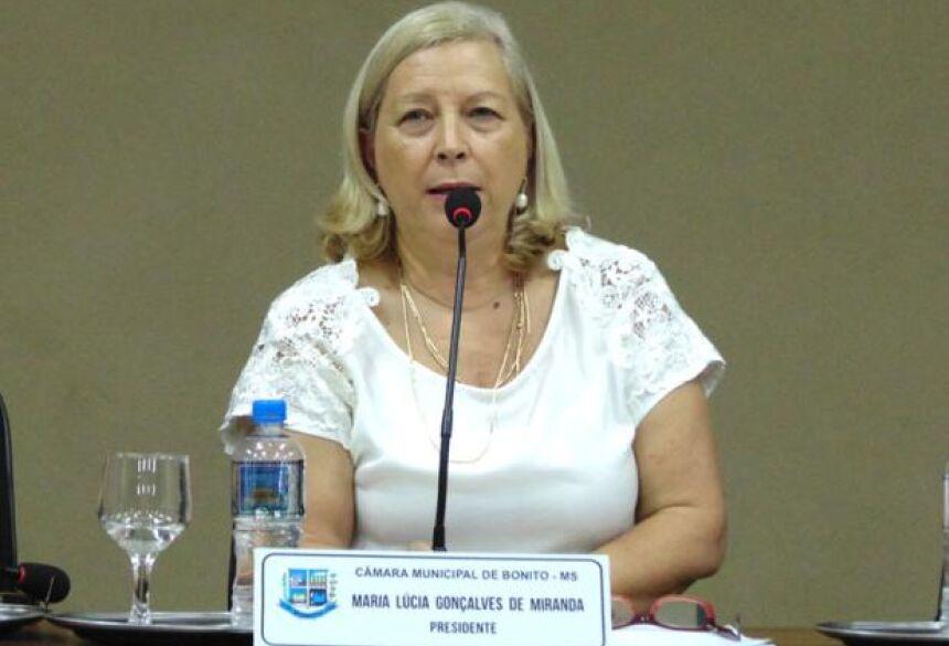 FOTO: BONITO INFORMA - Vereadora Lúcia Miranda pede criação da Casa do Trabalhador em BONITO
