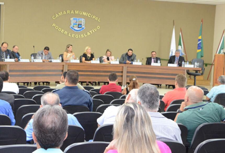 FOTO: ROGÉRIO SANCHES / BONITO INFORMA - Confira o que foi aprovado pelos vereadores durante a sessão ordinária na Câmara