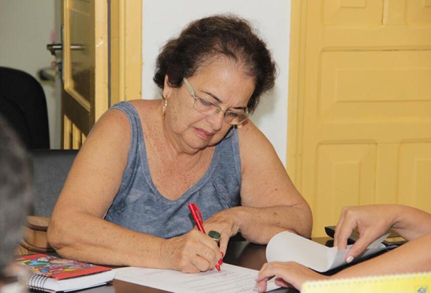 Marly Monteiro dos Santos, presidente da Associação Pestalozzi de Bonito.