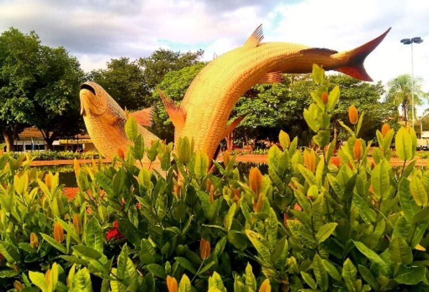 Foto: Filipi Brites – Praça da Liberdade em Bonito, MS