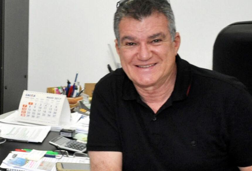 Secretário Municipal de Turismo, Augusto Barbosa Mariano, do município de Bonito - MS