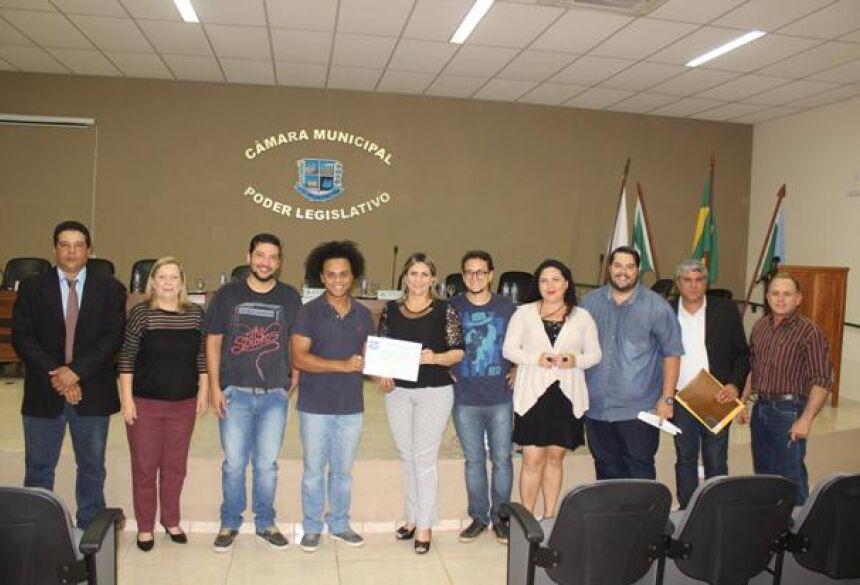 FOTO: PRISCILA CRUZ - Câmara homenageia Projeto 'Canta Bonito' com Moção de Parabenização em Bonito (MS)