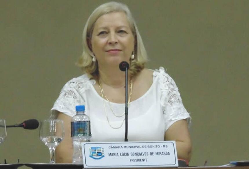 Vereadora Lúcia Miranda pede a criação do Departamento Municipal de Cultura em Bonito (MS)