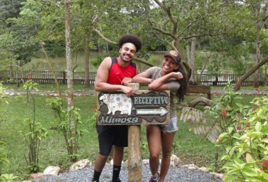 Camila Lobo e Caio visitaram a Estância Mimosa e o Recanto Ecológico Rio da Prata