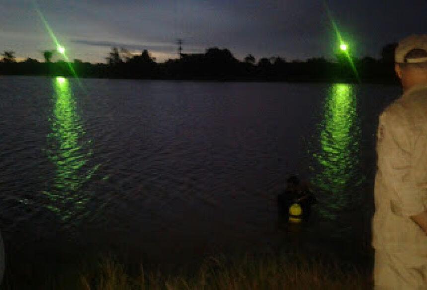 Jovem de 23 anos morador de Rio Brilhante desaparece em lago da Orla em Fátima do Sul