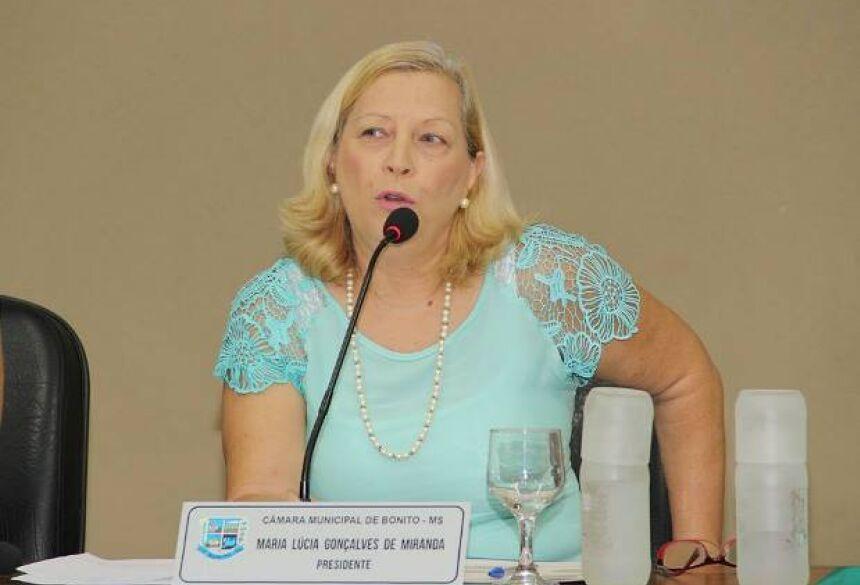 Lúcia Miranda pede agilidade na instalação de semáforos em Bonito (MS)