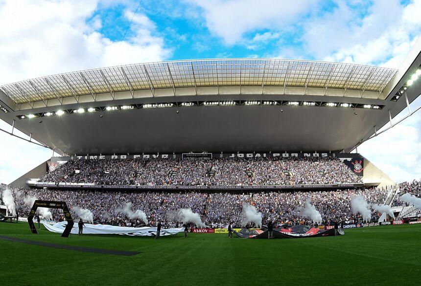 Estádio de Itaquera deve receber um bom público neste domingo (foto: Djalma Vassão/Gazeta Press)