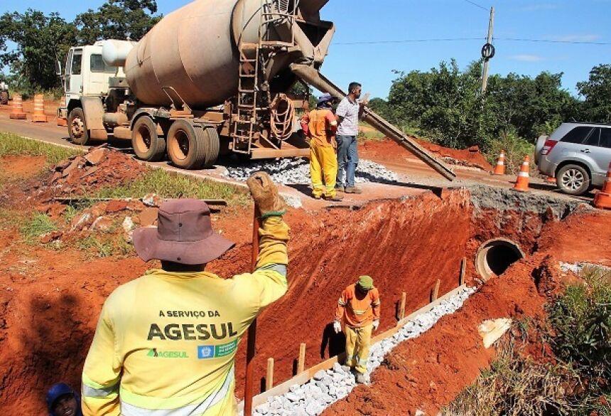 FOTO: JABUTY - Reperfilagem e drenagem vão melhorar qualidade da MS-178 em Bonito (MS)