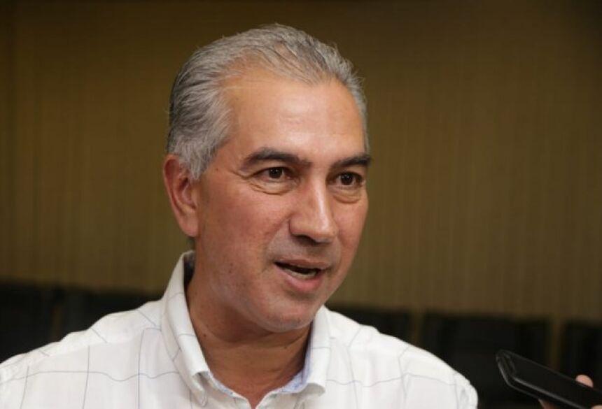 Governador fez reunião com secretariado e anunciou decisão e entrevista coletiva. (Foto: Fernando Antunes)