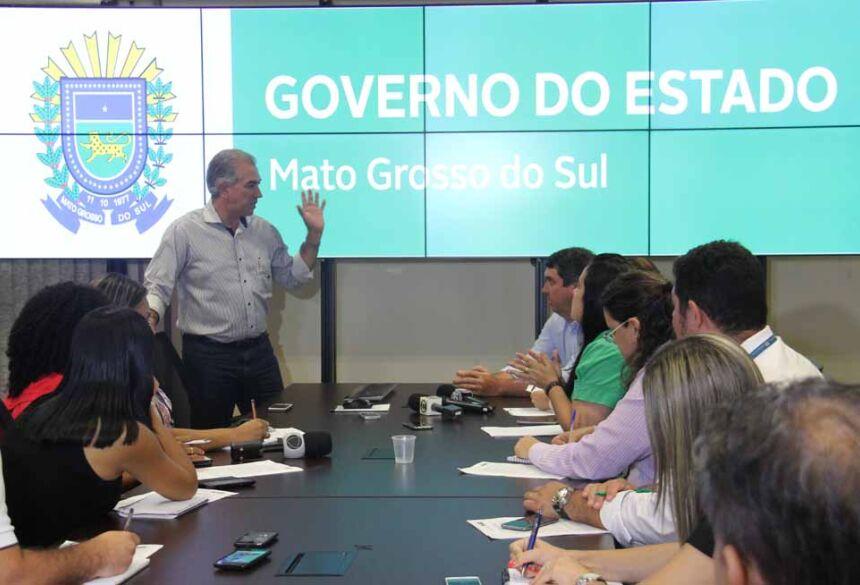 Criada por Reinaldo, Controladoria-Geral do Estado garante transparência no Governo