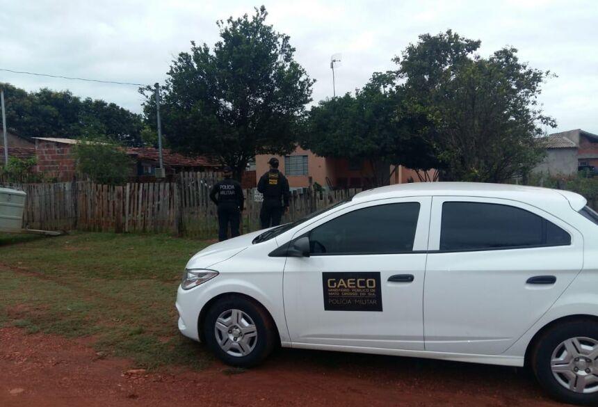Foram expedidos 25 mandados de prisão e 26 de busca e apreensão - Foto: Divulgação/MPE
