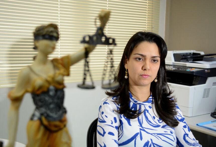 Delegana Jennifer é responsável pelo caso - Foto: Bruno Henrique/Correio do Estado