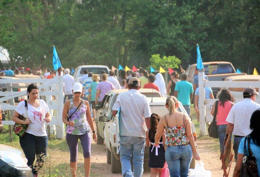 Romaria do Sinhôzinho partirá da Praça da Liberdade nesta sexta em Bonito (MS)